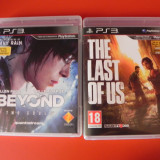 Beyond Two Souls si The Last Of Us ( Amandoua in stare excelent de buna)