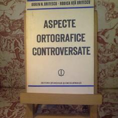 Dorin N. Uritescu - Aspecte ortografice controversate
