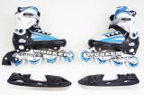WORKER Nolan - Role vara - patine iarna - reglabile 37 - 40- montura metalica, Unisex