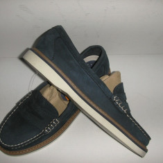 OFERTA!Mocasini/pantofi SPERRY TOP SIDER originali noi piele nubuck bleumarin 36 - Mocasini dama Sperry, Piele naturala