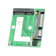 "Adaptor Mini PCI-E, mSATA SSD la SATA 2.5"" SATA 22pin"