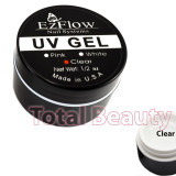 Gel UV EzFlow 15 gr Clear - Gel UV Transparent unghii false - Gel unghii