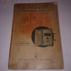 W.BLATZHEIM - MANUALUL INSTALATORULUI ELECTRICIAN Ed.1942 - Carti Energetica