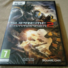 Joc Supreme Commander 2 PC, original, sigilat, alte sute de jocuri! - Jocuri PC Thq, Shooting, 12+, Single player