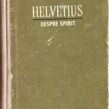 Helvetius - Despre spirit - Filosofie