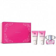 Versace Bright Crystal Set 50+50+50 pentru femei - Set parfum