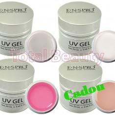 Set 3 x Gel UV ENS PRO Deluxe 20 gr + CADOU Gel UV Camuflaj unghii false - Gel unghii