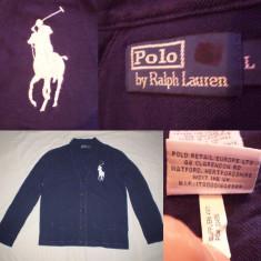 Cardigan POLO by Ralph Lauren Bluza Pulovar Barbati - marimea L - Bluza barbati, Marime: L, Culoare: Bleumarin