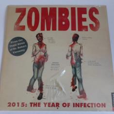 Calendar 2015 - ZOMBIES - Nou, Sigilat - Calendar colectie