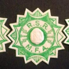 Lot viniete pentru sigilarea corespondentei militare, Fortele Armate RSR