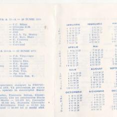 bnk dv Loto Pronosport Programul returului campionatului Diviziei A 1978-1979