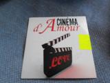 Cinema d'Amour - muzica din filme - Soundtrack filme romantice - Nou, CD