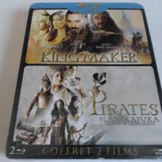 Pachet 2 filme Blu-Ray - KING MAKER , PIRATES DE LANGKASUKA - Nou,Sigilat
