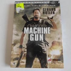 Film actiune - MACHINE GUN - Gerard Butler - Nou, Sigilat, DVD, Franceza