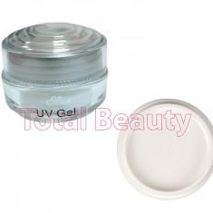 Gel Constructie Unghii UV Sina Deluxe 15 ml White French - Gel UV Alb - Gel unghii