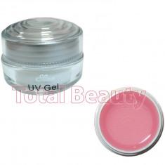 Gel Constructie Unghii UV Sina Deluxe 15 ml Pink - Gel UV Roz Transparent - Gel unghii Sina, Gel de constructie