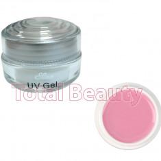 Gel Constructie Unghii UV Sina Deluxe 15 ml Light Pink - Gel UV Roz Laptos - Gel unghii