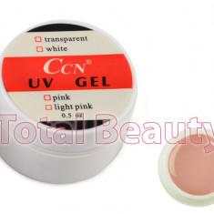 Gel UV CCN 15 gr Cover - Gel UV Camuflaj unghii false - Gel unghii