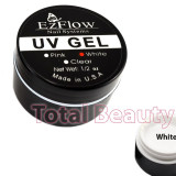 Gel UV EzFlow 15 gr Alb - Gel UV White French unghii false - Gel unghii