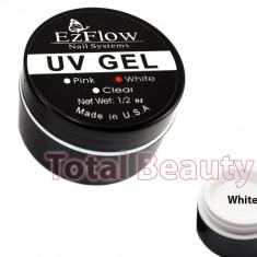 Gel UV EzFlow 15 gr Alb - Gel UV White French unghii false - Gel unghii