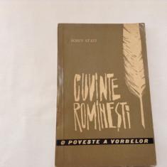 Cuvinte Romanesti -O Poveste a Vorbelor - Sorin Stati, RF7/4, RF8/2