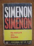 Georges Simenon - La mort de Belle (in limba franceza)