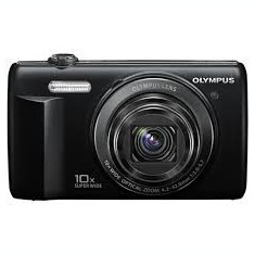 Aparat foto digital Olympus VR-350, 16.0 MP, Negru + Card SD 2GB +Husa - Husa Aparat Foto Alta