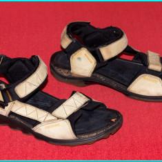 DE FIRMA → Sandale DIN PIELE, comode, usoare, fiabile, ECCO → barbati | nr. 42 - Sandale barbati Ecco, Culoare: Bej