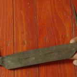 scule unelte - cutit vechi de prelucrat lemnul realizat manual la nicovala !!!