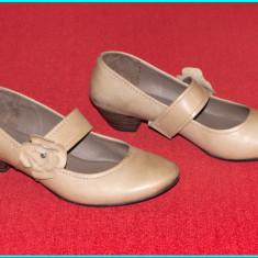 DE CALITATE → Pantofi din piele, comozi, usori, JANA FASHION → femei   nr. 39,5