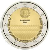 PORTUGALIA 2 euro comemorativa 2008 - UNC, Europa, Cupru-Nichel