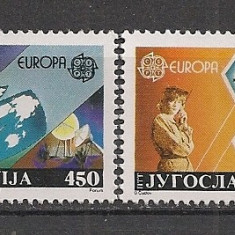 Iugoslavia.1988 EUROPA-Transport si comunicatii  SI.685