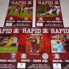 Lot 5 programe fotbal RAPID Bucuresti (sezonul 2013-2014) - Program meci