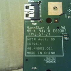 Modul usb card audio Medion Akoya P7812 MD97938 MD 97938 98770 48.4n003.011