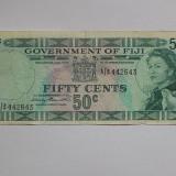 FIJI 50 Centi 1969 VF++
