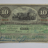 Cuba 10 Pesos 1896 VF