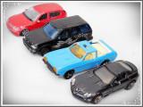 LOT 4 MAȘINUȚE - TABLĂ: BMW WELLY, MCLAREN, FORD EXPLORER, MAJORETTE FORD CAPRI!
