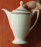 Vintage Cafetiera Ceainic - portelan fin motiv art deco Empire H&C Selb Bavaria