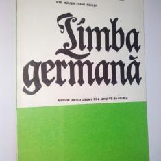 Limba Germana - manual pentru clasa a XI -a, anul VII de studiu, 1992 - Curs Limba Germana