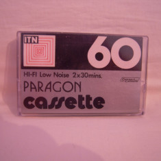 Vand caseta audio Paragon 60, originala, raritate