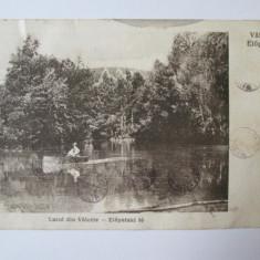 C.P. LACUL DIN VALCELE ANII 20 - Carte Postala Transilvania dupa 1918, Circulata, Printata