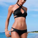 Victoria's Secret ZIP LONG LINE - 100% original, la comanda, 10 zile lucratoare - Costum de baie Victoria's Secret, Marime: XS, S, M, L, Culoare: Din imagine, Doua piese