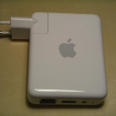 Apple airport express base station A1088 - Router wireless Apple, Port USB, Porturi LAN: 1