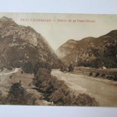 C.P. BAILE CALIMANESTI CU VALEA OLTULUI 1911, Circulata, Printata
