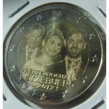 LUXEMBURG 2 euro comemorativa 2012-casatorie Duce, UNC, Europa, Cupru-Nichel