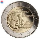 LUXEMBURG 2 euro comemorativa 2012-Dinastia Ducala, UNC, Europa, Cupru-Nichel