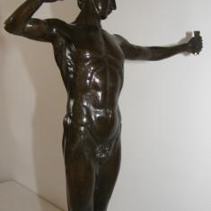 STATUETA DIN BRONZ, NUD - Sculptura, Nuduri