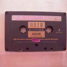 Vand  caseta audio Maxell XL II S 60,originala,raritate!