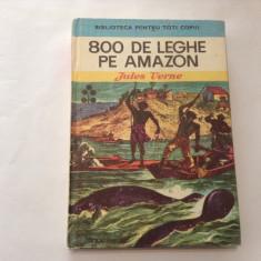 JULES VERNE - 800 DE LEGHE PE AMAZON-RF17/2