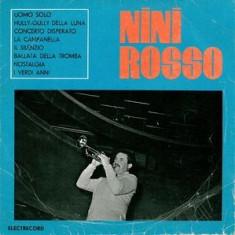 """Nini Rosso - Uomo Solo (Un Om Singur) (10"""")"""